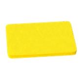000.Π11/YE Κίτρινη Πλάκα Κοπής Πολυαιθυλενίου 60x40x1,5 cm