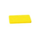 000.0Π3/YE Κίτρινη Πλάκα Κοπής Πολυαιθυλενίου 33x18x2 cm