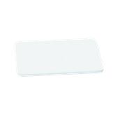 000.0Π7/WH Άσπρη Πλάκα Κοπής Πολυαιθυλενίου 50x30x1 cm