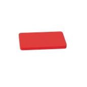 000.0Π3/RD Κόκκινη Πλάκα Κοπής Πολυαιθυλενίου 33x18x2 cm