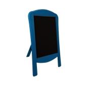 000.070/BL Ξύλινοs Πίνακαs Menu 120 x 75 cm Μπλε
