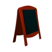000.071/RD Ξύλινοs Πίνακαs Διπλόs Menu 120 x 75 cm Κόκκινο