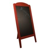 000.072/RD Ξύλινοs Πίνακαs Menu 152 x 77 cm Κόκκινοs