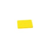 00Π.168/YE Κίτρινη Πλάκα Κοπής Πολυαιθυλενίου 20x15x1,5 cm