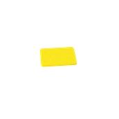 00Π.167/YE Κίτρινη Πλάκα Κοπής Πολυαιθυλενίου 20x15x1 cm