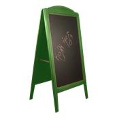000.073/GN Ξύλινοs Πίνακαs Διπλόs Menu 152 x 77 cm Πράσινο