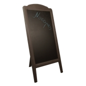 000.072/DK Ξύλινοs Πίνακαs Menu 152 x 77 cm Σκούρο Καφέ