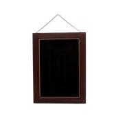 000.074/DK Ξύλινοs Πίνακαs Κρεμαστόs 80 x 55 cm Σκούρο Καφέ