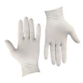 GLV-PD/XL Σετ 100τεμ γάντια Λάτεξ ελαφρώς πουδραρισμένα X-LARGE
