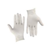 GLV-PD/M Σετ 100τεμ γάντια Λάτεξ ελαφρώς πουδραρισμένα MEDIUM