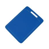 00Π.209/BL Μπλε Πλακα με χερούλι Πολυαιθυλενίου 25x35x1 cm