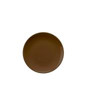 HR-20-TC-149 Πιάτο Βαθύ Κεραμικό Φ20 cm, Χρώμα Καφέ