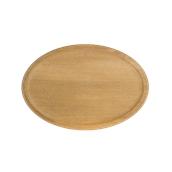 000.064 Ξύλινο Πιάτο Οβάλ Βαθύ 30 cm
