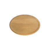 000.063 Ξύλινο Πιάτο Οβάλ Βαθύ 25 cm