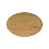 000.060 Ξύλινο Πιάτο Οβάλ με Λούκι 30 cm