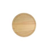 000.054 Ξύλινο Πιάτο με Λούκι Φ20 cm