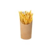 608-81 Χάρτινη Συσκευασία Τροφίμων Small, χρώμα Kraft, Ιταλίας