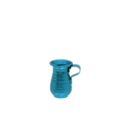 AL-KAN-100/BL Κανάτα Αλουμινίου Μπλε 100γρ, Φ6x9cm, Ελληνικής Κατασκευής