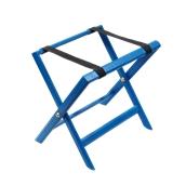 000.084/BL Αναδιπλούμενη ξύλινη μπαγκαζιέρα 50x38x49cm, βαμμένη γαλάζια