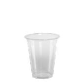 LR-505/PR/CR Ποτήρι Κρύσταλ 40 cl, 6.8gr, Μπύρας-Καφέ, Διάφανο PP, με ραβδώσεις, Lariplast