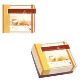 ABA-06 Κουτί Αρτοποιείου-Ζαχαροπλαστείου με Επικάλυψη Αλουμινίου No.6, 19x15,8x8cm (τιμή ανά κιλό)