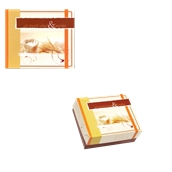 ABA-02 Κουτί Αρτοποιείου-Ζαχαροπλαστείου με Επικάλυψη Αλουμινίου No.2, 13x10x7cm (τιμή ανά κιλό)