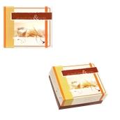 ABA-04 Κουτί Αρτοποιείου-Ζαχαροπλαστείου με Επικάλυψη Αλουμινίου No.4, 16,3x13,6x8cm (τιμή ανά κιλό)