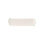 K-2055/WHITE Δίσκοs Μελαμίνηs 43x25cm Λευκός, Alkan