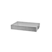 AL-RPN-B40 Ταψί Αλουμινίου Εστιατορίου ΧΩΡΙΣ χερούλια 40x27x8cm / 2mm