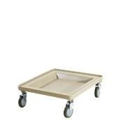 JW-RT Τρόλλεϋ μεταφοράς χωρίς χερούλια για τελάρα πλυντηρίου, 54 x 54 x 17 cm