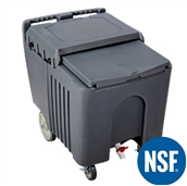 JW-SLI Ισοθερμικό δοχείο NSF μεταφοράς - διατήρησης πάγου 57 Kg - 110 LT