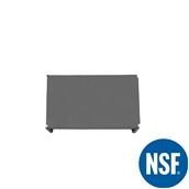 JW-PSS-3621/SOLID Ράφι Συμπαγέs Πλαστικό NSF κατάλληλο για τρόφιμα, κατάψυξη, 910Μ x 530Β mm