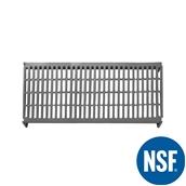 JW-PSU-5424/VENTED Ράφι Διάτρητο Πλαστικό NSF κατάλληλο για τρόφιμα, κατάψυξη,  1370Μ x 610Β mm