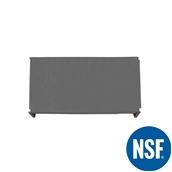 JW-PSS-4824/SOLID Ράφι Συμπαγέs Πλαστικό NSF κατάλληλο για τρόφιμα, κατάψυξη, 1220Μ x 610Β mm