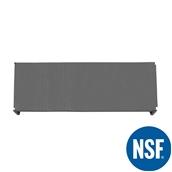 JW-PSS-6021/SOLID Ράφι Συμπαγέs Πλαστικό NSF κατάλληλο για τρόφιμα, κατάψυξη, 1525Μ x 530Β mm