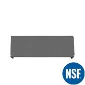 JW-PSS-5418/SOLID Ράφι Συμπαγέs Πλαστικό NSF κατάλληλο για τρόφιμα, κατάψυξη, 1370Μ x 455Β mm