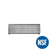 JW-PSU-4814/VENTED Ράφι Διάτρητο Πλαστικό NSF κατάλληλο για τρόφιμα, κατάψυξη,  1220Μ x 355Β mm