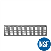 JW-PSU-6014/VENTED Ράφι Διάτρητο Πλαστικό NSF κατάλληλο για τρόφιμα, κατάψυξη,  1525Μ x 355Β mm