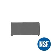 JW-PSS-4218/SOLID Ράφι Συμπαγέs Πλαστικό NSF κατάλληλο για τρόφιμα, κατάψυξη, 1060Μ x 455Β mm