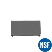 JW-PSS-4221/SOLID Ράφι Συμπαγέs Πλαστικό NSF κατάλληλο για τρόφιμα, κατάψυξη, 1060Μ x 530Β mm