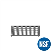 JW-PSU-4214/VENTED Ράφι Διάτρητο Πλαστικό NSF κατάλληλο για τρόφιμα, κατάψυξη,  1060Μ x 355Β mm