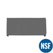 JW-PSS-5424/SOLID Ράφι Συμπαγέs Πλαστικό NSF κατάλληλο για τρόφιμα, κατάψυξη, 1370Μ x 610Β mm