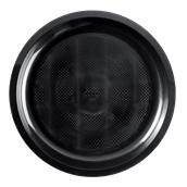 2756-19 Πιατέλα πλαστική στρογγυλή PP 29cm μαύρο.