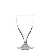 7570-21 Πλαστικό ποτήρι σαμπάνιας PS μίας χρήσης με διαφανές βάση, 16cl