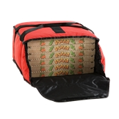 BTD3320/BTD3220 Τσάντα θερμός μεταφοράς για 5 πίτσες φ33cm, 35x35x20cm