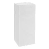 HF320-H00Q85-000 Έπιπλο διακοσμητικό πλαστικό πολλαπλών χρήσεων, ορθογώνιο λευκό 45x45x85cm Ιταλίας