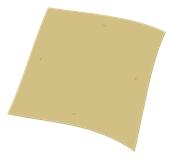 1100811101 Χάρτινο Τραπεζομάντηλο Εστιατορίου, 100x100 cm, 3φυλλο, σχέδιο λαδόκολα, ENDLESS