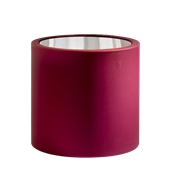TA320-D0550-146 Τραπέζι κύλινδρός πλαστικό, κόκκινο Φ55x55cm Ιταλίας