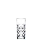 MELODIA HB Ποτήρι Κρυστάλλινο Σκαλιστό 36cl, φ7cm, ύψος 15cm, RCR Ιταλίας