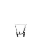 FUSION DOF Ποτήρι Κρυστάλλινο Σκαλιστό 27cl, φ9,3cm, ύψος 9,8cm, RCR Ιταλίας